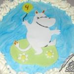 Muumi-kakku lastenjuhliin